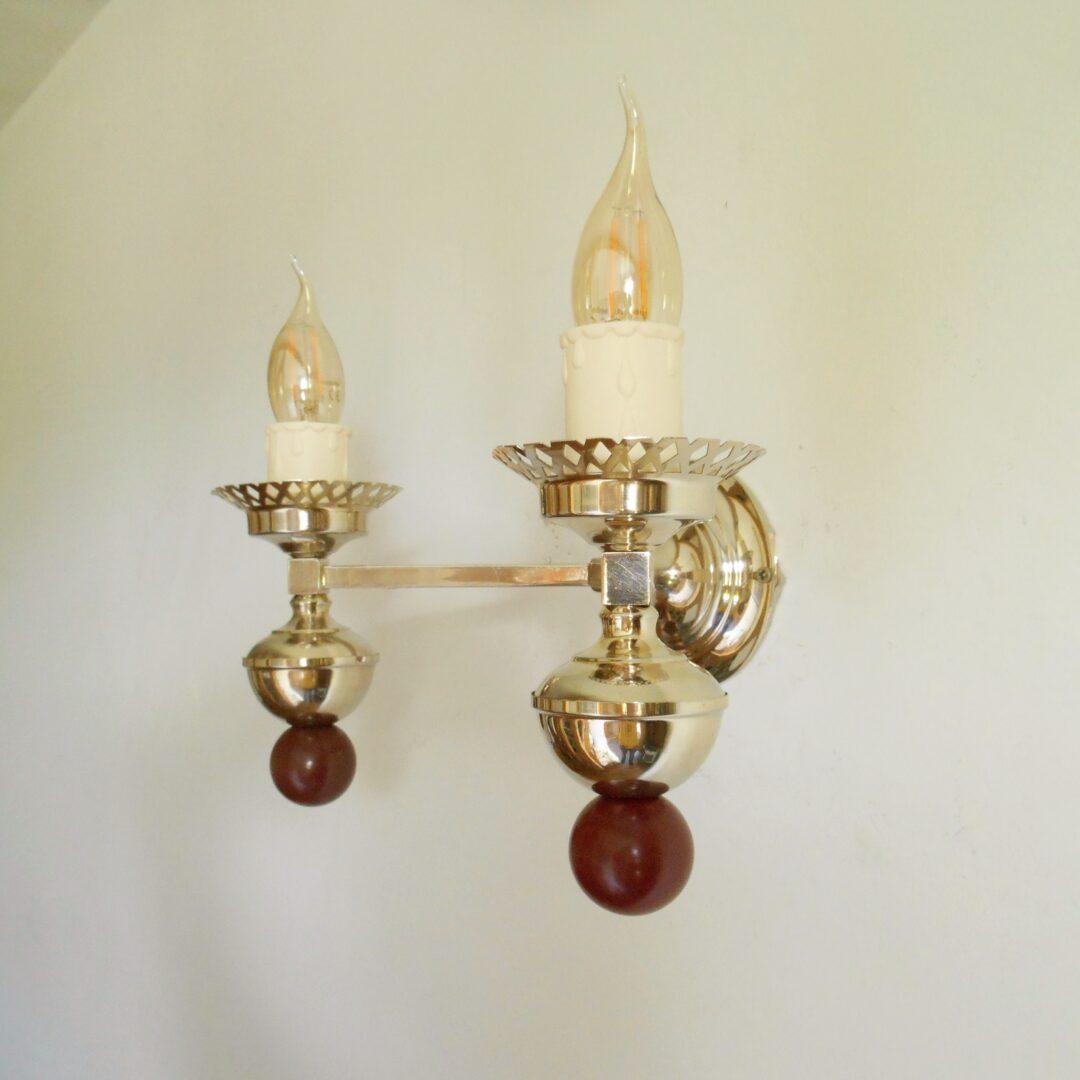 Art Deco style unique wall lamp by Fiona Bradshaw Designs