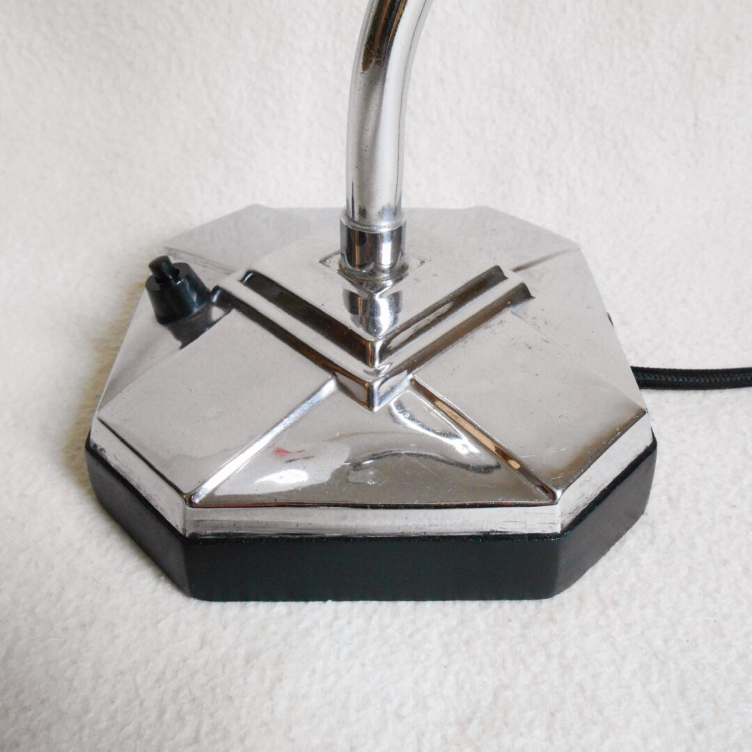 Art Deco adjustable desk lamp by Fiona Bradshaw Designs